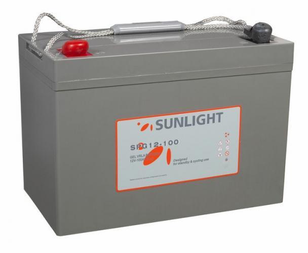 Фото Аккумуляторы для ИБП (UPS) Sunlight SPG 12-100