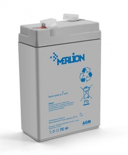 Фото Аккумуляторы для ИБП (UPS) Merlion GP645 6V 4.5Ah