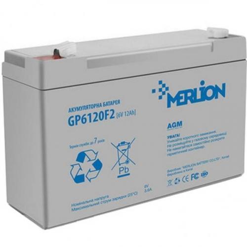Фото Аккумуляторы для ИБП (UPS) Merlion GP612F2 6V 12Ah