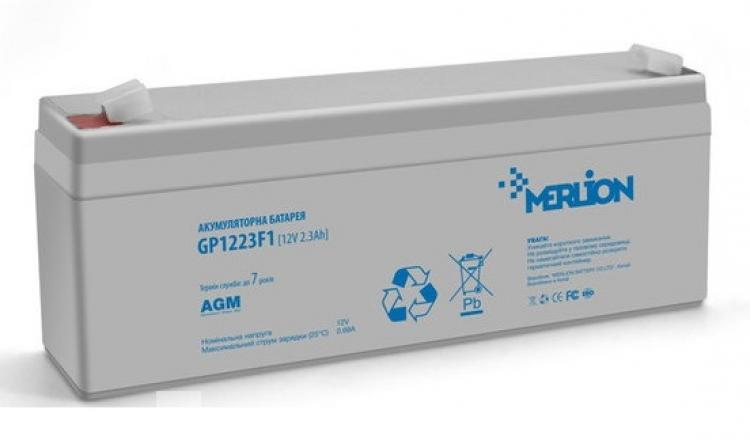 Фото Аккумуляторы для ИБП (UPS) Merlion GP1223F1 12V 2.3Ah