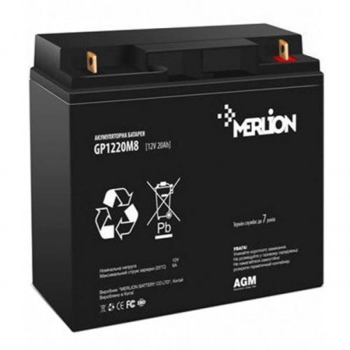 Фото Аккумуляторы для ИБП (UPS) Merlion GP1220M5 12V 20Ah