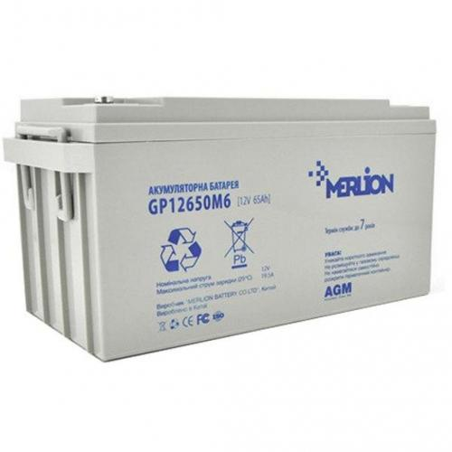 Фото Аккумуляторы для ИБП (UPS) Merlion GP12650M6 12V 65Ah
