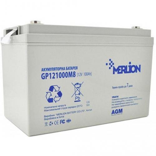 Фото Аккумуляторы для ИБП (UPS) Merlion GP121000M8 12V 100Ah