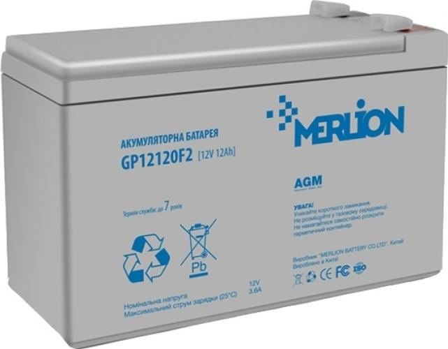 Фото Аккумуляторы для ИБП (UPS) Merlion GP12120F2 12V 12Ah
