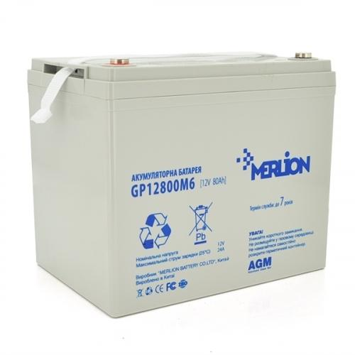 Фото Аккумуляторы для ИБП (UPS) Merlion GP12800M8 12V 80Ah