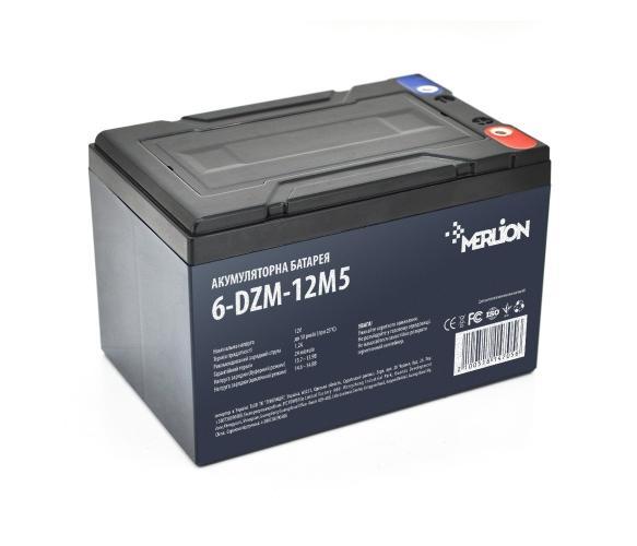 Фото Аккумуляторы для электровелосипедов и скутеров Merlion 6-DZM-12 M5