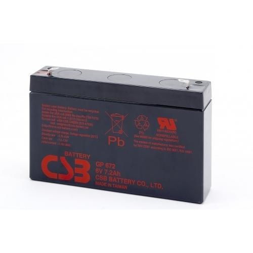 Фото Аккумуляторы для ИБП (UPS) CSB GP 672 6V 7.2Ah