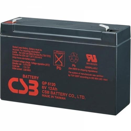 Фото Аккумуляторы для ИБП (UPS) CSB GP6120 6V 12Ah