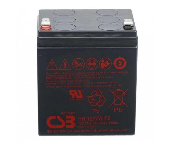 Фото Аккумуляторы для ИБП (UPS) CSB HR1227WF2 12V 6.5Ah