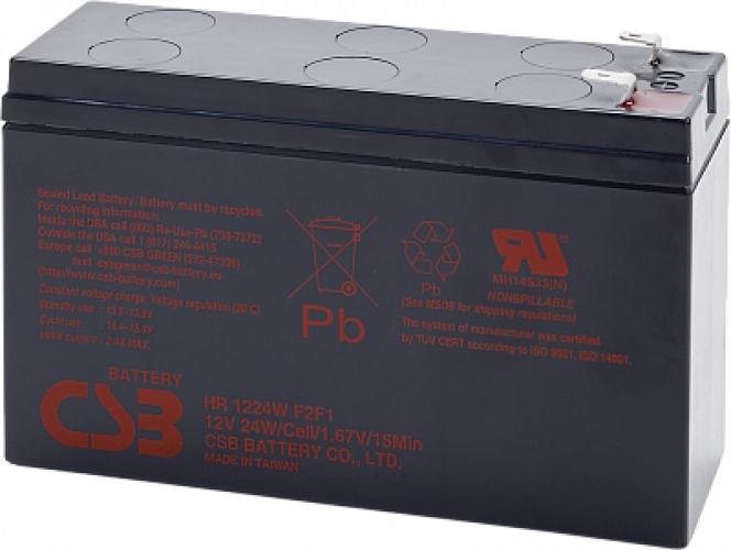 Фото Аккумуляторы для ИБП (UPS) CSB HR1224WF2 12V 6.5Ah