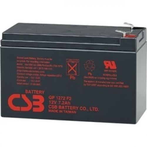 Фото Аккумуляторы для ИБП (UPS) CSB GP1272F2 12V 7.2Ah