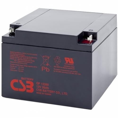 Фото Аккумуляторы для ИБП (UPS) CSB GP12260 12V 26Ah