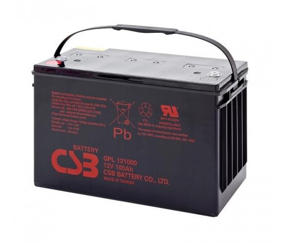 Фото Аккумуляторы для ИБП (UPS) CSB GPL121000 12V 100Ah