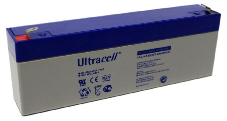 Фото Аккумуляторы для ИБП (UPS) Ultracell UL2.4-12 12V 2.4Ah