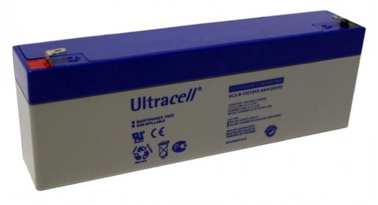 Фото Аккумуляторы для ИБП (UPS) Ultracell UL2.6-12 12V 2.6Ah