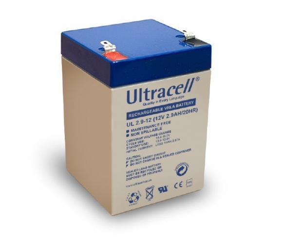 Фото Аккумуляторы для ИБП (UPS) Ultracell UL2.9-12 12V 2.9Ah