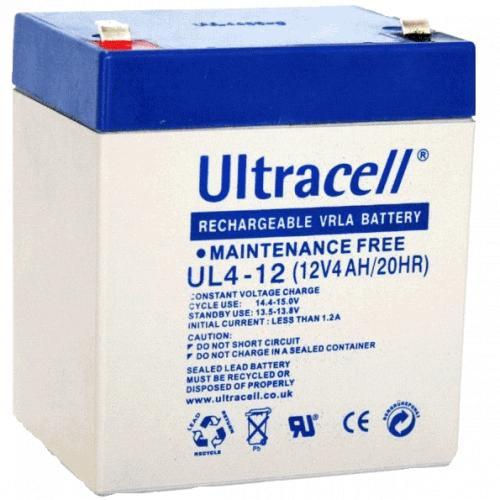 Фото Аккумуляторы для ИБП (UPS) Ultracell UL4-12 12V 4Ah