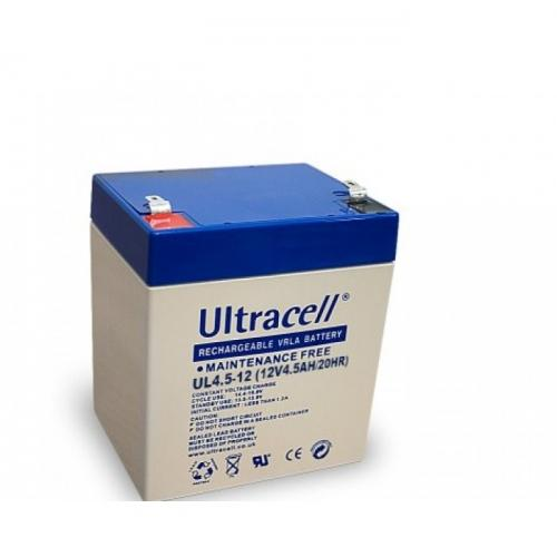 Фото Аккумуляторы для ИБП (UPS) Ultracell UL4-12 12V 4.5Ah