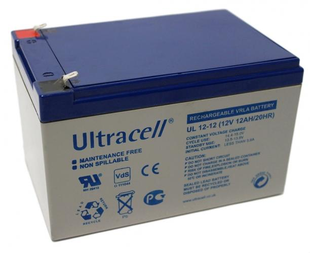 Фото Аккумуляторы для ИБП (UPS) Ultracell UL12-12 12V 12Ah