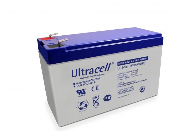 Фото Аккумуляторы для ИБП (UPS) Ultracell UL9-12 12V 9Ah