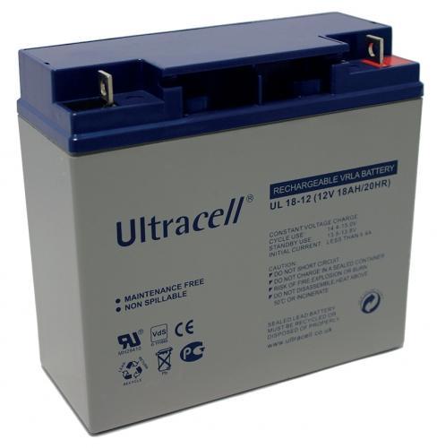 Фото Аккумуляторы для ИБП (UPS) Ultracell UL18-12 12V 18Ah