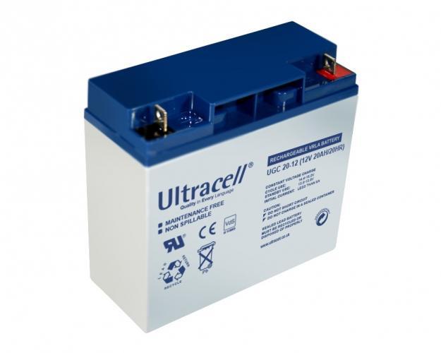 Фото Аккумуляторы для ИБП (UPS) Ultracell UCG20-12 12V 20Ah