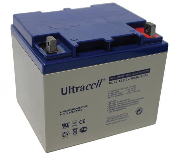 Фото Аккумуляторы для ИБП (UPS) Ultracell UL40-12 12V 40Ah