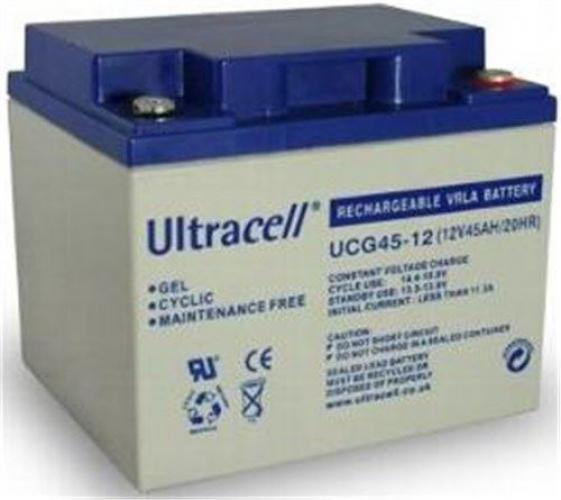 Фото Аккумуляторы для ИБП (UPS) Ultracell UCG45-12 12V 45Ah