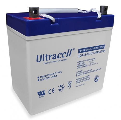 Фото Аккумуляторы для ИБП (UPS) Ultracell UCG55-12 12V 55Ah