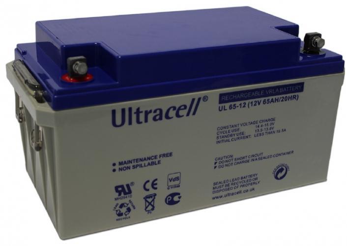 Фото Аккумуляторы для ИБП (UPS) Ultracell UL65-12 12V 65Ah