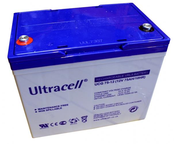 Фото Аккумуляторы для ИБП (UPS) Ultracell UХL75-12 12V 75Ah