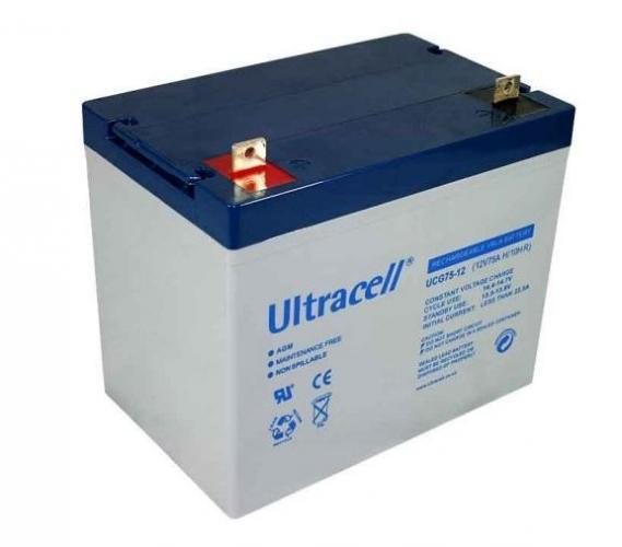 Фото Аккумуляторы для ИБП (UPS) Ultracell UCG75-12 12V 75Ah