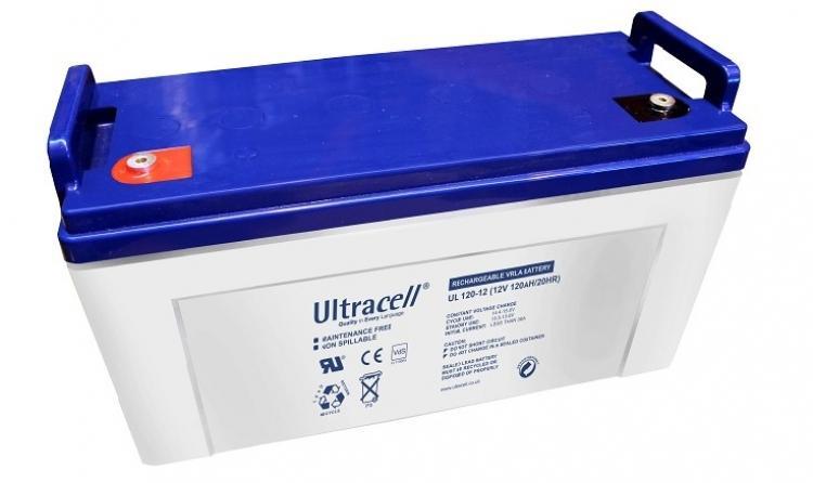 Фото Аккумуляторы для ИБП (UPS) Ultracell UL120-12 12V 120Ah