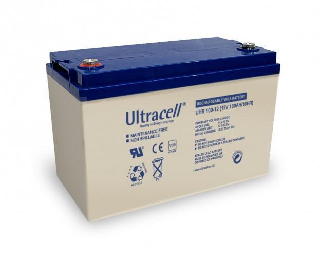 Фото Аккумуляторы для ИБП (UPS) Ultracell UHR100-12 12V 100Ah