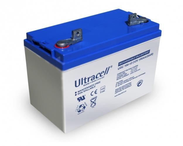 Фото Аккумуляторы для ИБП (UPS) Ultracell UCG100-12 12V 100Ah
