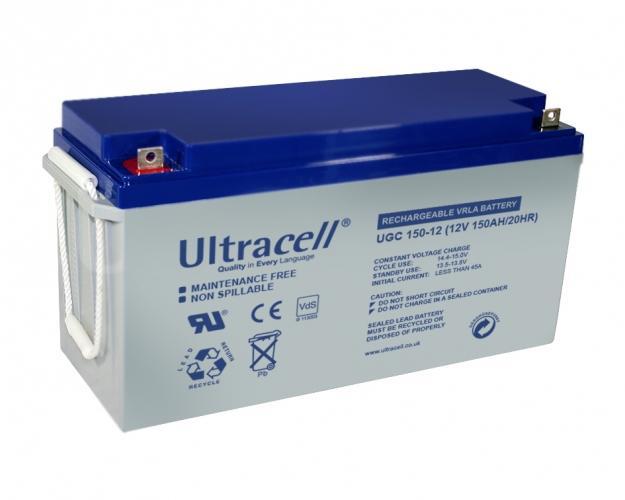 Фото Аккумуляторы для ИБП (UPS) Ultracell UCG150-12 12V 150Ah