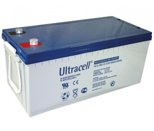 Фото Аккумуляторы для ИБП (UPS) Ultracell UCG200-12 12V 200Ah