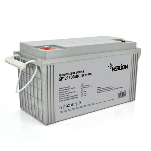 Фото Аккумуляторы для ИБП (UPS) Merlion GP121500M8 12V 150Ah