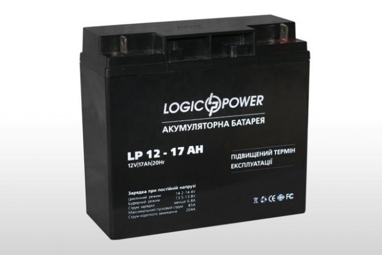 Фото Аккумуляторы для ИБП (UPS) LogicPower LP LP 12V 17Ah