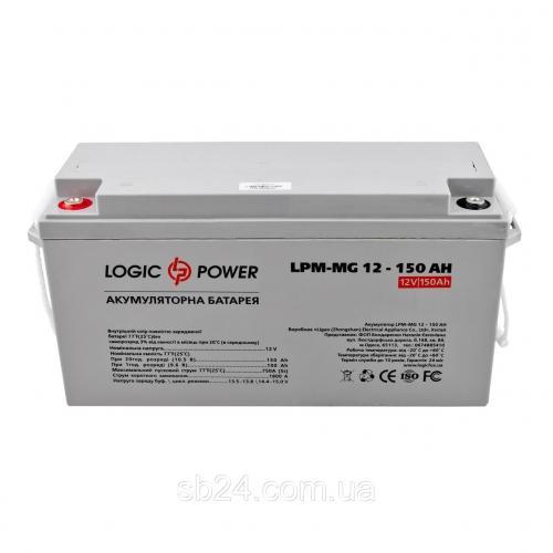 Фото Аккумуляторы для ИБП (UPS) LogicPower LP мультигелевый AGM LPM-MG 12-150