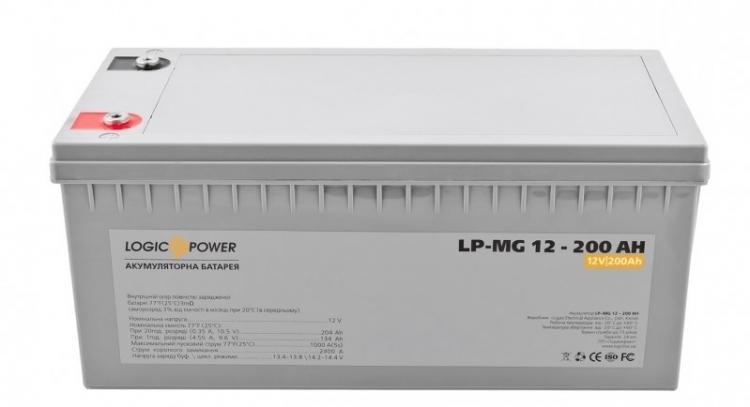 Фото Аккумуляторы для ИБП (UPS) LogicPower LP мультигелевый AGM LP-MG 12-200
