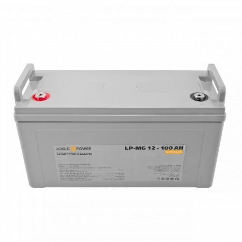 Фото Аккумуляторы для ИБП (UPS) LogicPower LP мультигелевый AGM LPM-MG 12-100