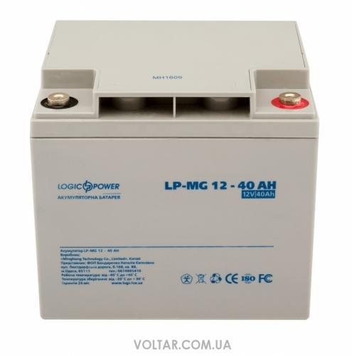 Фото Аккумуляторы для ИБП (UPS) LogicPower LP мультигелевый AGM LP-MG 12-40