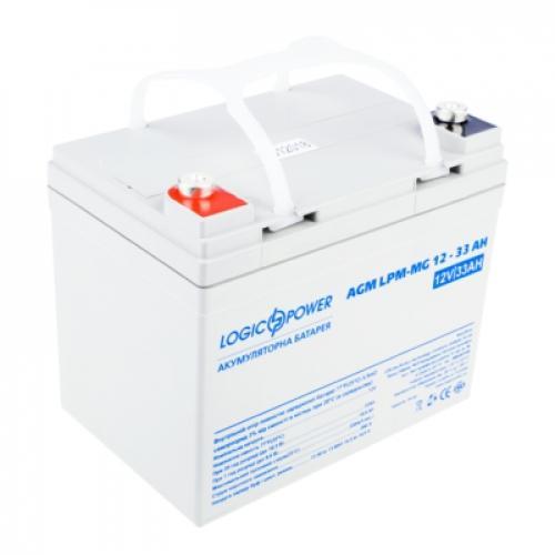 Фото Аккумуляторы для ИБП (UPS) LogicPower LP мультигелевый AGM LPM-MG 12-33