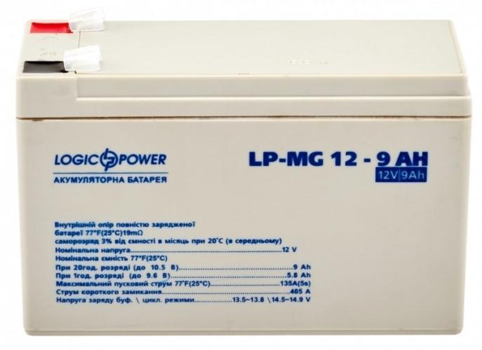 Фото Аккумуляторы для ИБП (UPS) LogicPower LP мультигелевый AGM LP-MG 12-9