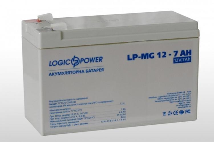 Фото Аккумуляторы для ИБП (UPS) LogicPower LP мультигелевый AGM LP-MG 12-7