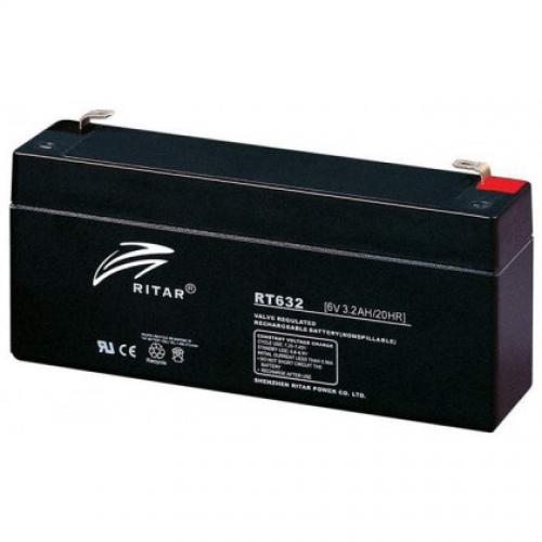 Фото Аккумуляторы для ИБП (UPS) Ritar AGM RITAR RT632 6V 3.2Ah