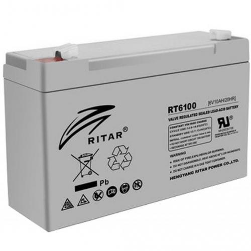 Фото Аккумуляторы для ИБП (UPS) Ritar AGM RITAR RT6100 6V 10Ah