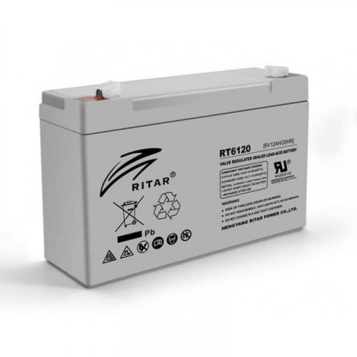 Фото Аккумуляторы для ИБП (UPS) Ritar AGM RITAR RT6120A 6V 12Ah