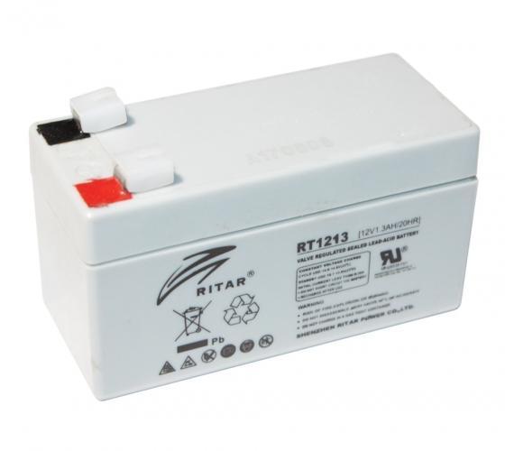Фото Аккумуляторы для ИБП (UPS) Ritar AGM RITAR RT1213 12V 1.3Ah